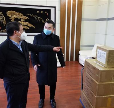 杜威智能捐赠100台微差压计,支持湖北武汉抗击疫情!